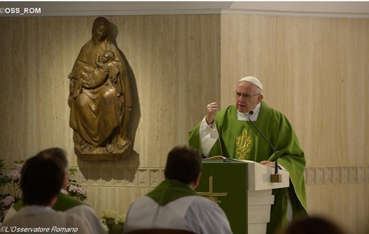 Kết quả hình ảnh cho pope francis meditation